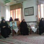 تجلیل از مادران شهدا در حوزه خواهران میبد