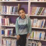 پسر ۱۰ سالهای که۲۰۰۰ جلد کتاب خوانده است