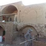 مرمت و بازسازی خانه باغ امامی در میبد