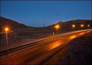 بهره برداری از روشنایی و تعریض جاده راه آهن میبد