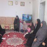 دیدار جمعی از خواهران طلبه با خانواده شهید جلالزاده