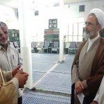 دیدار مدیر مؤسسه بیتالاحزان با ایت الله اعرافی