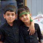 📸تصاویر زیبا از حضور کودکان در عزاداری سیدالشهدا(ع)