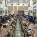 گزارش تصویری از جلسه مشترک شورای تامین شهرستان های میبد و اردکان