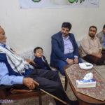 دیدار اعضای بسیج رسانه یزد با خانواده شهیدان محسنیفر + تصاویر
