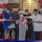 گزارش تصویری از افتتاح مجموعه ورزشی مهربد میبد با حضور ستاره های فوتبال ایران