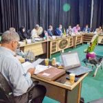 مسائل مرتبط با حریم و حدود روستای بیده مورد بررسی قرار گرفت