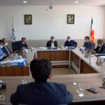 بررسی مشکلات شهرداری و شورای شهر بفروئیه با حضور نماینده مجلس + تصاویر