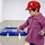 گزارش تصویری از برگزاری انتخابات در میبد