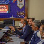 جلسه مسئولین میبد با مدیرکل اوقاف و امور خیریه استان یزد برگزار شد + تصاویر