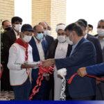 گزارش تصویری از افتتاح اولین مدرسهی طرح «هر کارخانه یک مدرسه» در میبد