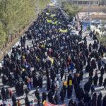 گزارش تصویری از راهپیمایی ۲۲ بهمن در میبد / بخش سوم