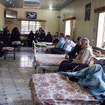گزارش تصویری/ بانوان بسیجی میبد از جانبازان قطع نخاع استان یزد دیدار کردند