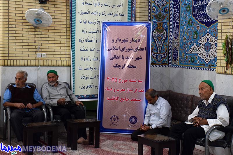 """عکس/ شهردار و اعضای شورای شهر میبد در """"کوچُک"""""""