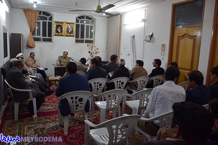 جلسه هم اندیشی جبهه فرهنگی با دادستان میبد برگزار شد.