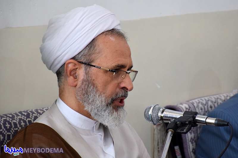 گزارش تصویری/ شورای آموزش و پرورش میبد با حضور آیت الله اعرافی تشکیل جلسه داد