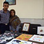 روایتی خواندنی از تلاش و امید بانوی نائینی بستری در بیمارستان میبد + تصاویر