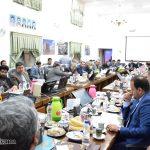 گزارش تصویری از برگزاری نشست شورای آموزش و پرورش استان یزد در فرمانداری میبد