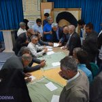 تصاویر/ «میز خدمت» با حضور رئیس و اعضای شورای شهر و شهردار میبد در مصلی برگزار شد