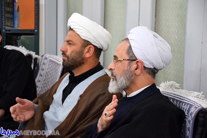گزارش تصویری از برگزاری مراسم تاسوعای حسینی در بیت امام جمعه میبد