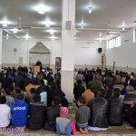 گزارش تصویری از مراسم یادبود کودک افغانستانی در میبد/ جمعه وحدت و همدردی