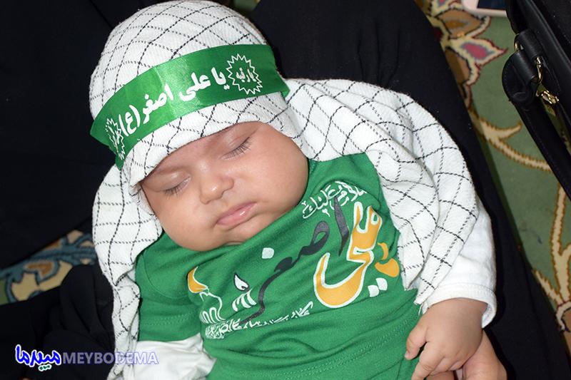گزارش تصویری از همایش شیرخوارگان حسینی در میبد