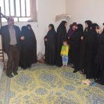اهداء فرش دستبافت بانوان میبدی به حرم امام حسین(ع)