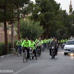 📷عکس/ کاروان دوچرخه سواری ۳۰ شب ۳۰ مسجد