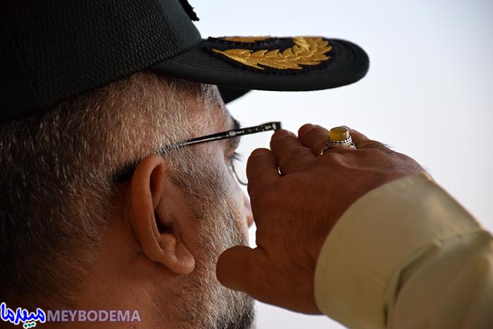 گزارش تصویری از مراسم صبحگاه مشترک نیروهای نظامی میبد با حضور فرماندهی انتظامی استان یزد