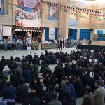 مراسم شهادت حضرت فاطمه(س) و سالگرد مرحوم حجت الاسلام یحیی زاده برگزار شد + فیلم و عکس