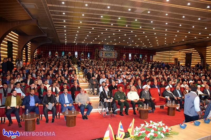 گزارش تصویری از آغاز مراسم افتتاحیه اجلاس پیرغلامان حسینی در میبد