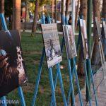 نمایشگاه عکس بنا به دلایلی به جای فرهنگسرا در محوطه پارک فلسطین برگزار شد/ ۲۵ اثر موجود در نمایشگاه از بین ۳۷۰ اثر انتخاب شده است/ +تصاویر
