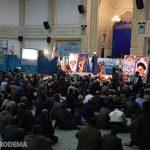 """گزارش تصویری از مراسم جشن """"شکوه پایداری"""" در مصلی آیت الله اعرافی"""
