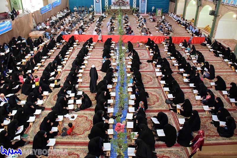 عکس/ مراسم جزء خوانی قرآن کریم در حسینیه اعظم شهیدیه