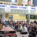 گزارش تصویری از دومین شب مراسم شهادت امام موسی بن جعفر(ع) در تکیه زینبیه حسن آباد میبد