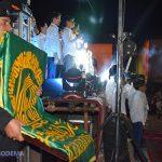گزارش تصویری از جشن زیر سایه خورشید و رونمایی از پرچم حرم مطهر امام رضا(ع)