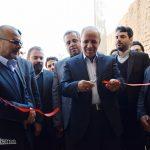 گزارش تصویری از افتتاح یک مجموعه بوم گردی توسط معاون رئیس جمهور در شهیدیه میبد