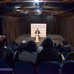 گزارش تصویری از افتتاح سالن پلاتوی مجموعه تئاتر شهر میبد