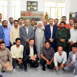 گزارش تصویری از مراسم روز خبرنگار در بیت آیت الله اعرافی
