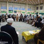 عکس/ دیدار مدیران و معاونین حوزه های علمیه استان یزد با آیت الله اعرافی