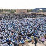 تصاویری از نماز باشکوه عید سعید فطر در میبد