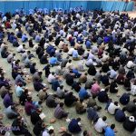 تصاویر/ برگزاری مراسم شبقدر در مصلی آیت الله اعرافی