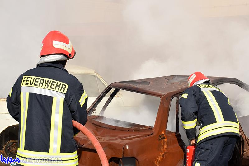 در ۶ ماهه نخست سال ۵۶۰ ماموریت آتشنشانی در میبد انجام گرفته است/ تجهیزات به میزان یک میلیارد ریال تا پایان مهر به آتش نشانی میبد اختصاص خواهد یافت + تصاویر