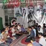 📷 تصاویر/ برگزاری سالگرد شهید حججی در محله دهآبادمیبد