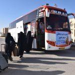 اعزام بیش از ۸۰ دانشجوی دختر دانشگاه میبد به مشهد