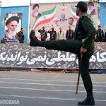 گزارش تصویری از مراسم باشکوه رژه نیروهای مسلح شهرستان میبد