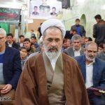 تصاویر/ حضور آیت الله اعرافی در محله علی آباد