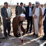 عکس/ کلنگ احداث بزرگترین پردیس سینمایی استان یزد زمین خورد