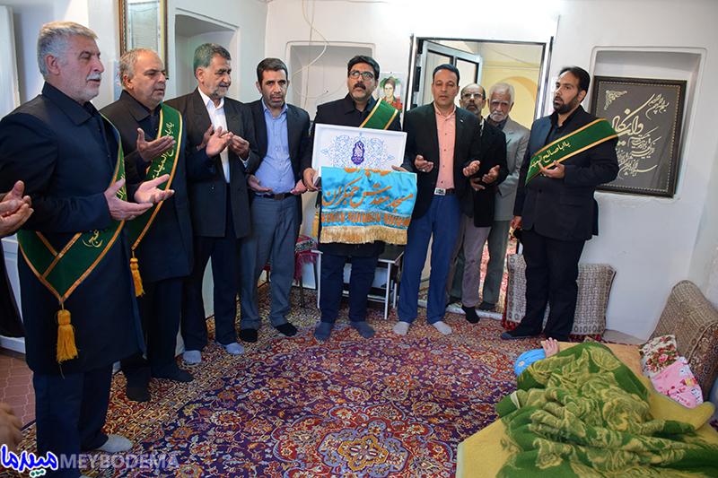 گزارش تصویری از حضور خدّام مسجد مقدس جمکران در میبد