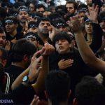 گزارش تصویری از عاشورای حسینی در فیروزآباد میبد + کلیپ
